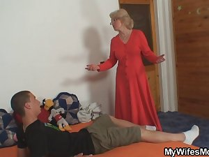 She fucks not her son in law
