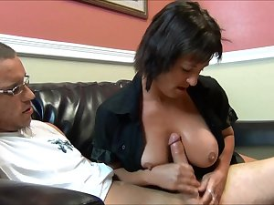 NastyPlace.org - Cum on step mommas titties it's for your own good