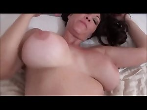 Hot Mom Fucking not her Son while He Sleeps