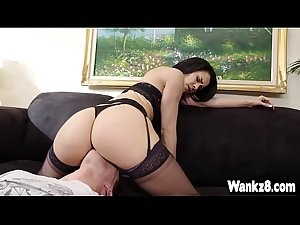 Hot Stepmom Samia Duarte Fucked with Stepson