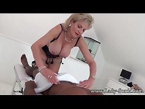 www.xxxfuss.com Lady Sonia black guy massage, handjob, blowjob and..