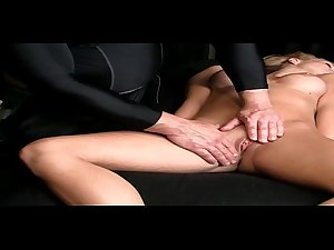 Massage Therapy Sexy Blonde Bitches sexmare.com