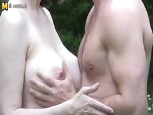 Big breasted British MOM FROM LOCALMILF.INFO fucking not her son