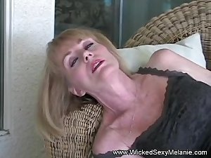 Amateur GILF Has A New Dildo