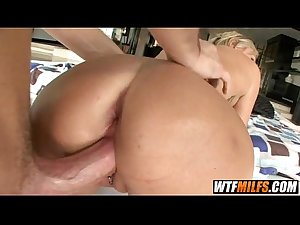 blonde MILF likes getting her holes filled 6 001