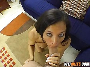 slutty milf tries a new cock 2 003
