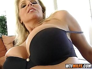 mature MILF blonde needs young cock to cum 3