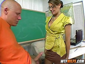 Cute latina teacher fucked by student 1 002