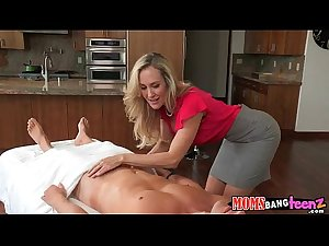 Mom and daughter fuck cock together Brandi Love, aylor Whyte 3 1