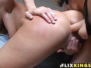 Horny moms fuck Samantha Ryan, Darryl Hanah  85