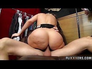Hot MILF in stockings Alena Croft 95
