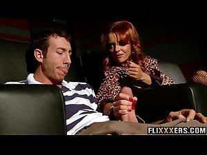 Amazing redhead mom pussy Janet Mason  fucked 91