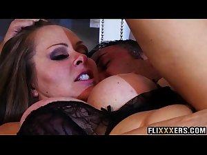 Thick mommy gets big dick Dyanna Lauren 93