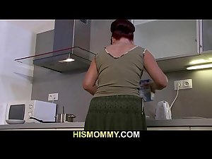 Mother eats her son&#039_s GF cunt